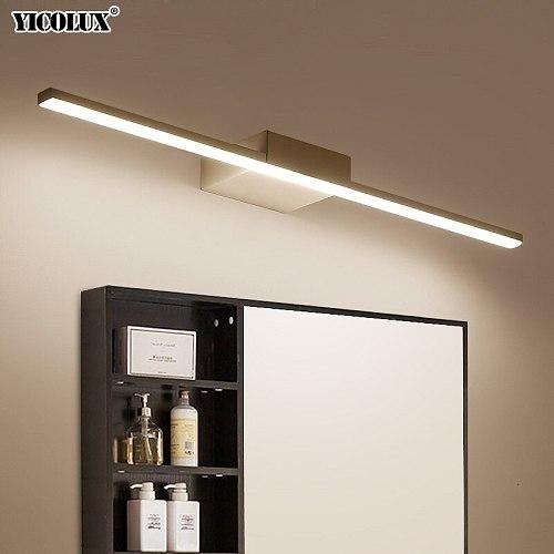 Wall Lamp Led bathroom mirror lights Black/White 400/600/800/1000/1200mm Modern makeup dressing bathroom led mirror lamp fixture