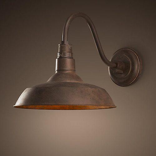 Retro Vintage Wall Mounted Lamp Loft Industrial Rust American Style Outdoor Indoor Light Luminaire Corridor Aisel Bar Waterproof
