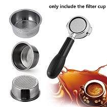 Coffee Filter Cup 51mm Non Pressurized Filter Basket For Breville Delonghi Filter Krups Coffee Products Kitchen Accessories
