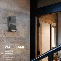 5W 6W 15W Modern simple creative outdoor waterproof wall lamp LED courtyard lamps gate lamp terrace balcony garden wall light