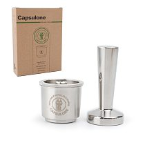 Capsulone Compatible for illy coffee Machine Maker/STAINLESS STEEL Metal Refillable Reusable Coffee Capsule Pods Baskests
