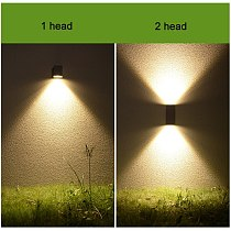 IP65 waterproof GU10 wall lamp, die-casting outdoor wall lamp, engineering lighting fence garden countyard villa ZBW0004