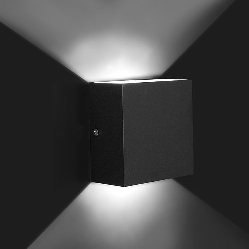 Dimmable 6W 85-265V Cube COB LED Indoor Lighting Wall Lamp Modern Home Lighting Decoration Sconce Aluminum Lamp