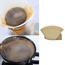 101  V  Shape Coffee Cup Filter Paper Espresso Machine Mocha Pot Strainer Sheet
