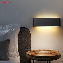 Rectangle Led Wall Lamp Bedside Sconces 4W7W14W18W Light lamp 110V 220V Living Room Bathroom Mirror Light Indoor Aisle