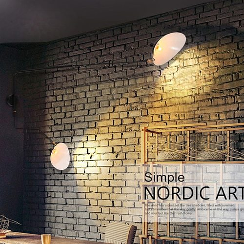 Nordic DaWn Spider Wall Lamps Bedroom Modeling Industrial Wall Light Creative Simple Living Room Led Light Fixture
