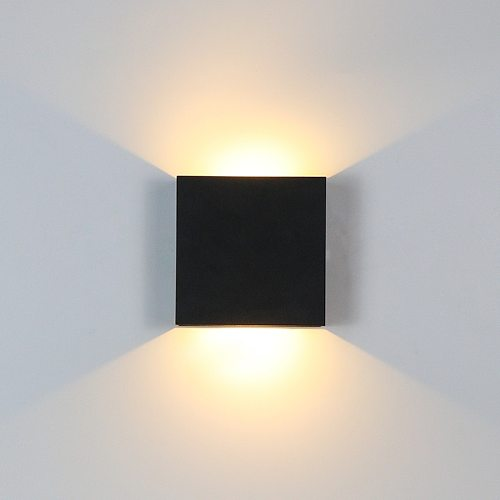 6W Up and Down Wall Lamps Dimmable LED Aluminium Wall Light LED Wall Lamp For Bedroom Living Room Corridor Aside Lighting BL06