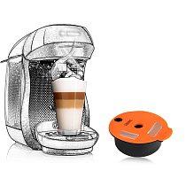 Refillable Coffee Capsule For Bosch-1 Tassimo-2 Machine Rich Crema Maker