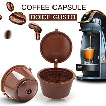 1/3/4/5PCS coffee capsule nestle dolce gusto capsule nespresso refillable capsule coffee filter reusable cafe tool Fast delivery