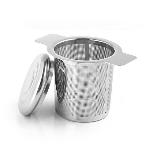Mesh Tea Infuser Reusable Tea Strainer Stainless Steel Teapot Loose Tea Leaf Spice Filter Items Equipment Kitchen Accessories