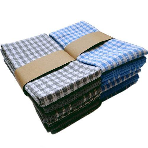 Cotton Dish Cloth Plaid pano de prato Eco-Friendly Kitchen Towel Bulk Tea Towel Lots Scouring Pad 3PC/Set