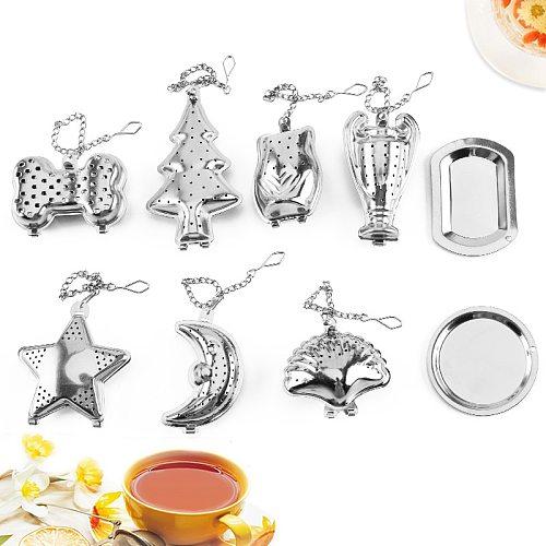 1PC Stainless Steel Tea Infuser Sphere Mesh Tea Strainer Coffee Herb Spice Filter Diffuser Handle Tea Ball
