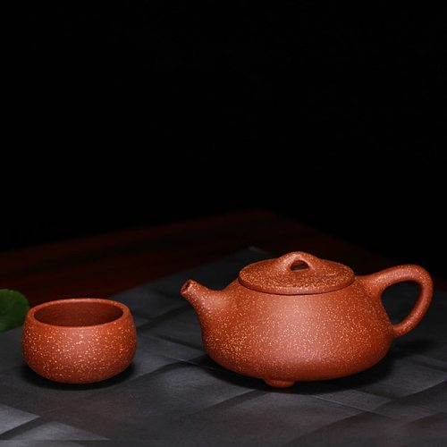 Tea set Recommended manufacturers selling ore dragon blood sandstone pot of tea set gift custom teapot Free shipping