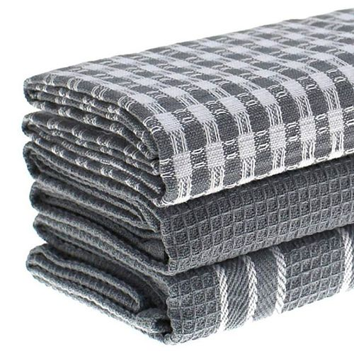 Cotton Dish Cloth Plaid pano de prato Eco-Friendly Kitchen Towel Bulk Tea Towel Dropshipping
