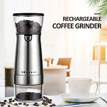 Adjustable USB Electric Coffee Grinder Professional Home Office Use Supplied Coffee Bean Grinder Mill Machine Kitchen Tools
