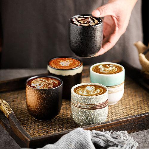 RHE 200ml New Coffee cups Ceramics mugs Beer  Tea Mug Whiskey Glass Drinkware cup Ceramic Latte Specialized coffee