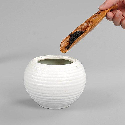 Tea Spoon Natural Bamboo Chinese Kongfu Tea Shovel Tea Ceremony Fish Shape Teaware Accessories