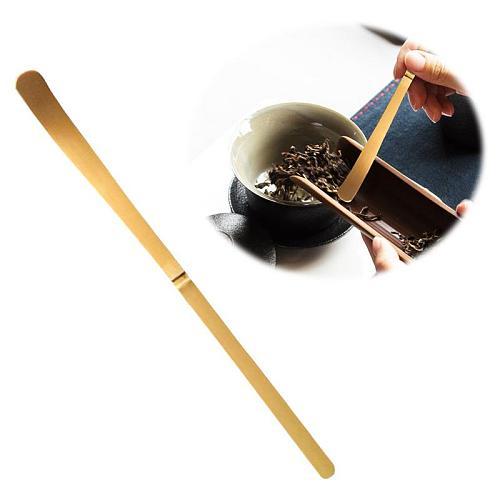 Handmade White Bamboo Matcha Spoon Clean Tea Set Teaspoon Matcha Tool Not Easy Deform With Break Durable Tea Needle
