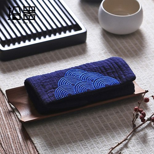 Embroidery Kitchen Tea Towels Table Mat Handkerchief Placemat Drink Coasters Cloth Napkins Tea Cloth Kitchen Accessories Gift