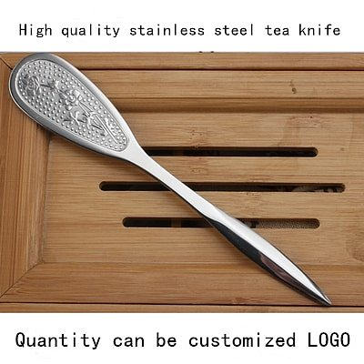 1PC Puerh tea Knife needle Puer knife cone stainless steel metal insert tea set thickening puer knife for Puer Black Tea