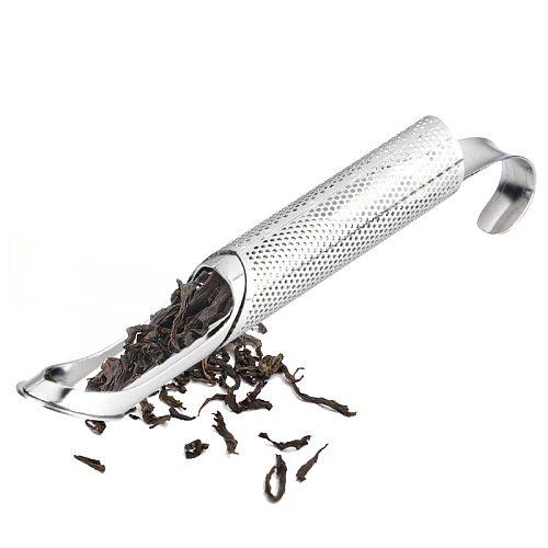 Stainless Steel Tea Infuser Creative Pipe Design Metal Tea Strainer for Mug Fancy Filter for Puer Tea Herb Tea Tools Accessories