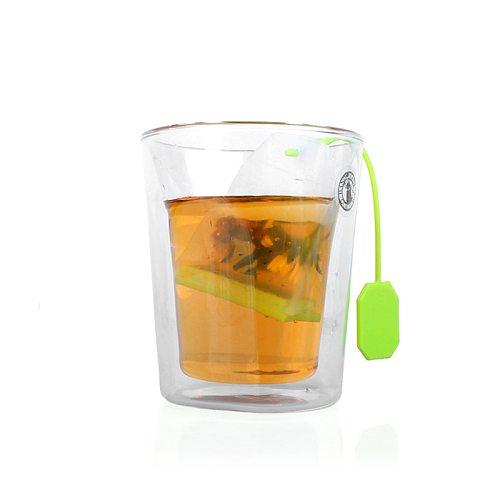 Tea Strainers & Tea Infusers Food Grade Silicone Tea Strainer Bags Coffee Loose Tea Leaves Infusers 1PCS