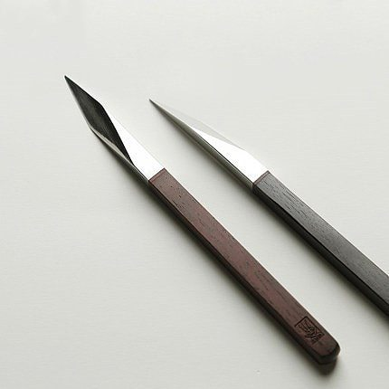 The tea knife Stainless steel Damascus pu-erh tea by hand Wooden handle pry tea cone parts of Chinese style gift