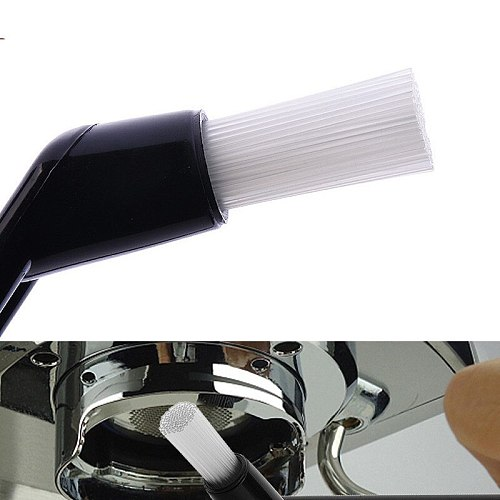 Coffee Brush Coffee Grinder Machine Cleaning Brush Tool For Espresso Machine Group Head Nylon Bristles Brush With Plastic Handle