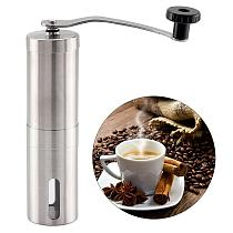Hot New Multi-Purpose Coffee Grinder Mini Stainless Steel Hand Manual Handmade Coffee Bean Burr Grinders Mill Kitchen Tool
