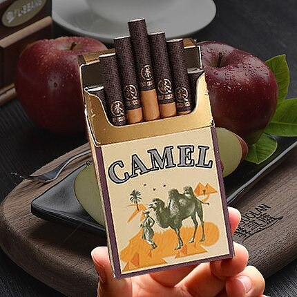 Quit Smoke Artifact Camel Cuban Flavor Cigars, Coarse Branch Made from Chinese Tea Cigarette Non-tobacco Products No Nicotine