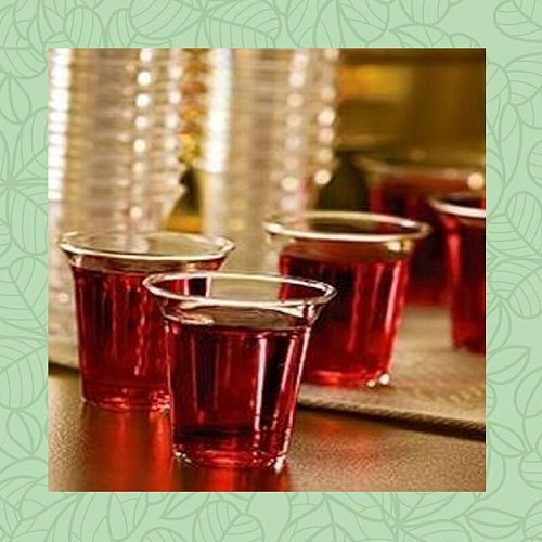 Small  Mini White Clear Tea Vasos  Communion  Worship In Church Christian Sacrament Disposable Holy Plastic Cup