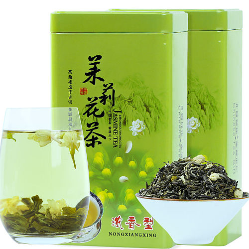 2020 New Tea Jasmine Tea Mountain Green Tea Canned 125G , 250G , 500G
