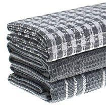 2021 New Cotton Dish Cloth Plaid pano de prato Eco-Friendly Kitchen Towel Bulk Tea Towel