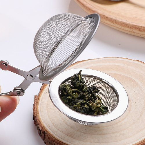 HILIFE Stainless Steel Tea Infuser Sphere Mesh Tea Strainer Coffee Herb Spice Filter Diffuser Handle Tea Ball