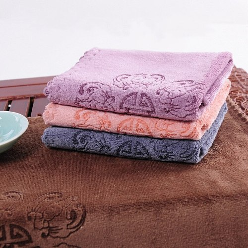 1 PCS Thicken Tea Cloth Absorbent Strong Tea Napkins Tea Set Accessories Nice Gift Tea Towels Fiber 30*30cm