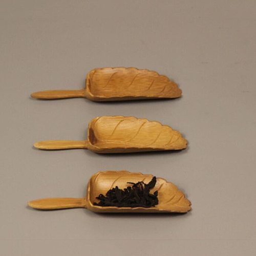 New Natural Bamboo Tea Scoop Spoon Retro Style Kung Fu Tea Tools High Quality Spoon Delicate Accessories