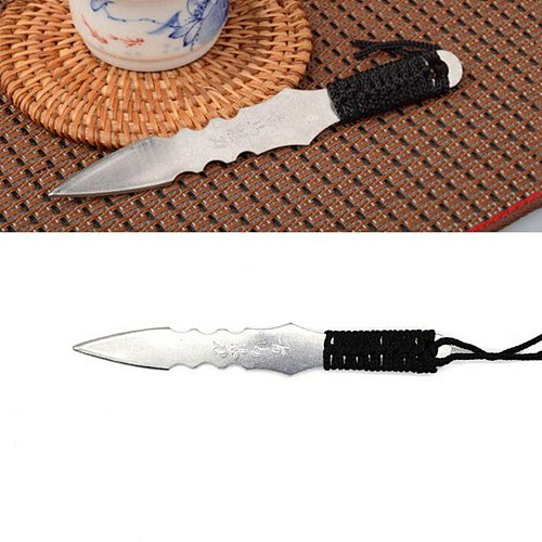 1 PCS Puerh tea Knife needle Puer knife cone stainless steel metal insert tea set thickening puer knife tea