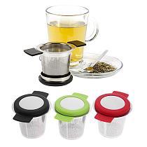 Stainless Steel Reusable Tea Infuser Basket Fine Mesh Tea Strainer With Handles Lid Tea and Coffee Filters for Loose Tea Leaf