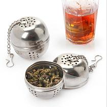 Stainless Steel Tea Infuser Ball Tea Leaf Spice Strainer Mesh Filter Organizer Kitchen Accessories teapot Holder Diffuser