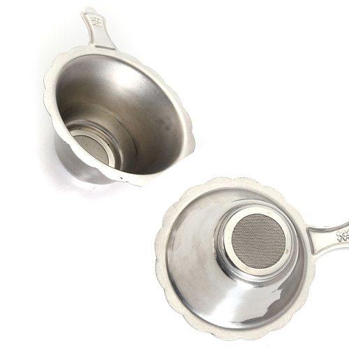 Reusable Stainless Steel Tea Infuser Basket Fine Mesh Tea Strainer  Filters for Loose Tea Leaf Drinkware Kitchen Accessories