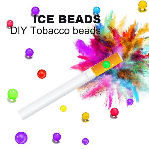 New Flavour 200pcs DIY Cigarettes pops beads Mint Fruit menthol flavor popping Smoking Accessories holder smoke balls men gifts