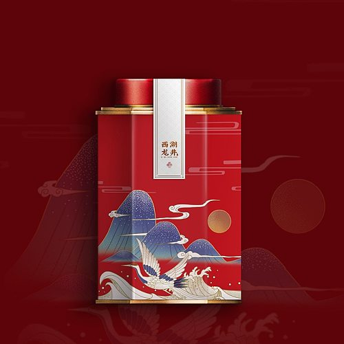 Exquisite Tinplate Tea Box Candy Cans with Internal Sealing Lids and High-end Gift Bags Suitable for Tea, Candy, Tea Match, Coff