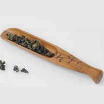 1PC Tea Ceremony Natural Chinese Kongfu Tea Spoon Bamboo Fish Shape Tea Shovel Teaware Accessories