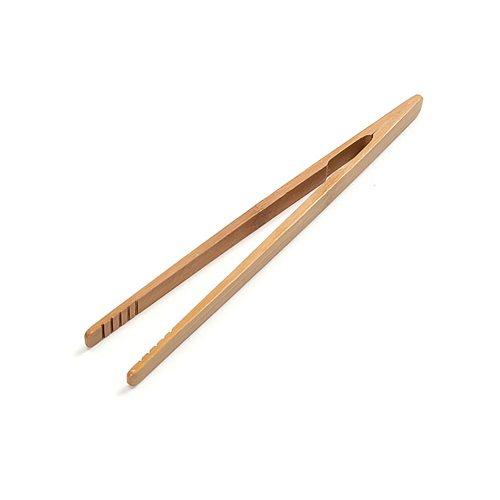 2pcs Natural Wood Bamboo Bread Clip Wooden Toaster Bagel Bacon Tea Clip Bamboo Straight Tea Clip Environmental Protection Clip