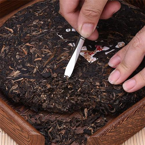 Stainless Steel Tea Needle Delicate Tea Cutter Puer Tea Cone Tea Ceremony Accessories Crafts Kung Fu Teasets Spiral Tea Knife