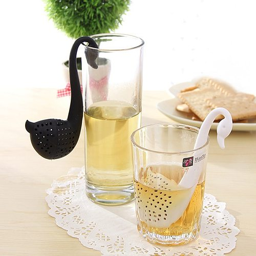 1 Pc Strawberry Tea Accessories Infuser Ball Leaf Strainer for Brewing Device Herbal Spice Filter Kitchen Tools Strawberry Bag