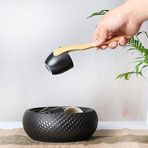 Bamboo Toast Tong Wooden Toaster Bagel Bacon Sugar Ice Tea Tongs Bamboo Tweezers Tea Clip Environmental Straight Bent Clip