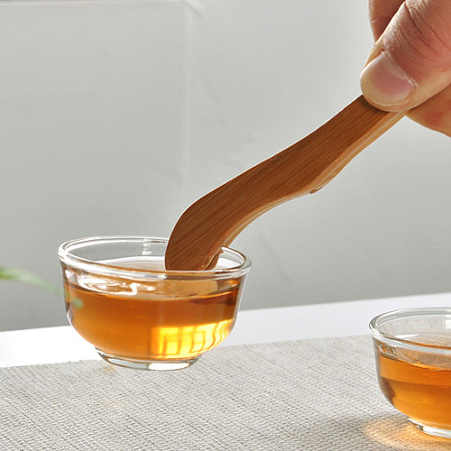 Visual Touch Bamboo Wooden Food Toast Tongs Toaster Bacon Sugar Ice Tea Leaf Salad Home Tweezer