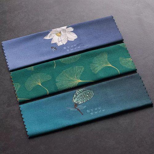 High-Grade Tea Towel Cloth Absorbent Kombucha Single-Service Towels Teapot Towel Tea Table Tea Table Rag Tea Cloth Cotton