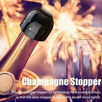 3pcs Red Wine Bottle Cap Stopper Vacuum Sealer Wine Stopper Fresh Wine Keeper Champagne Cork Leak-proof Stopper Kitchen Bar Tool